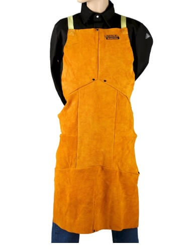 Lincoln Electric Flame-Resistant Leather Welding Apron