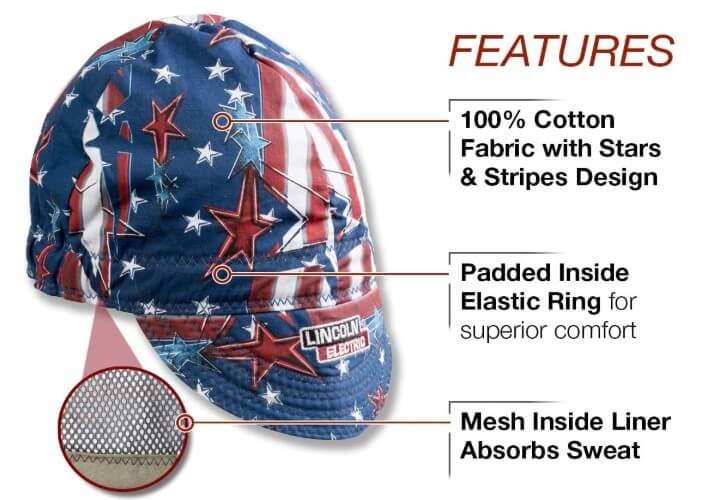 Lincoln Electric Welding Cap