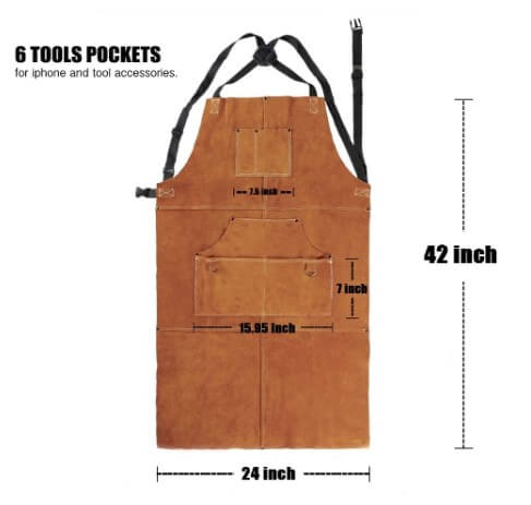 Qeelink Leather Welding Apron